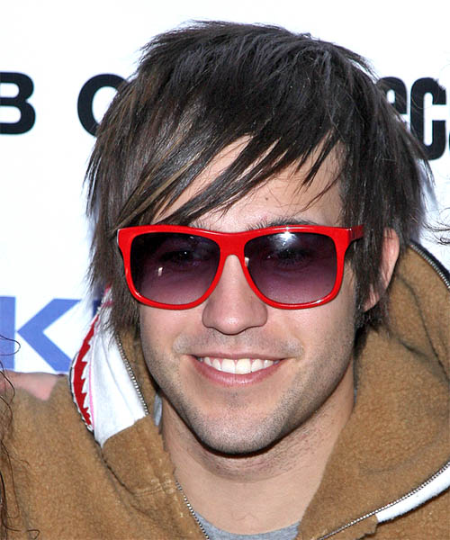 Pete Wentz - Alternative Short Straight Hairstyle