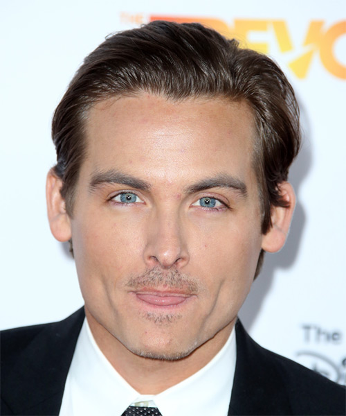 Kevin Zegers Short Straight Formal Hairstyle