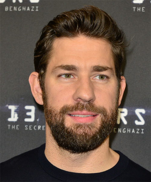 John Krasinski Short Straight Casual