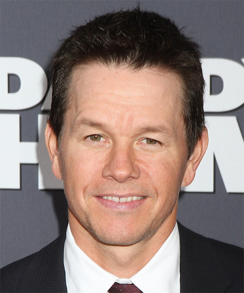 Mark Wahlberg Short Straight Casual Hairstyle (Mocha)