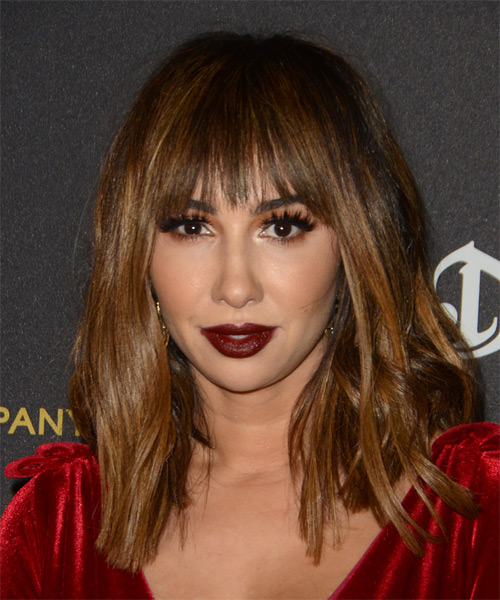 Jackie Cruz Long Straight Casual Hairstyle