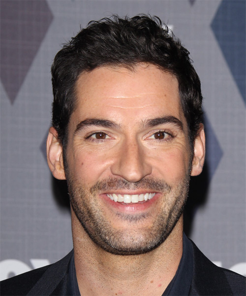 Tom Ellis Short Straight Hairstyle