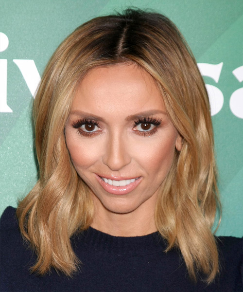 Giuliana Rancic Medium Wavy Casual Hairstyle