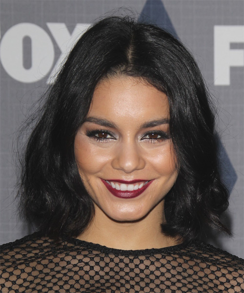 Vanessa Hudgens Medium Wavy Casual Hairstyle