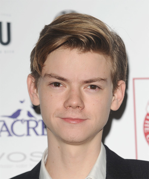 Thomas Brodie Sangster Short Straight Casual