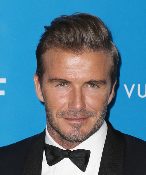 David Beckham Short Straight Formal