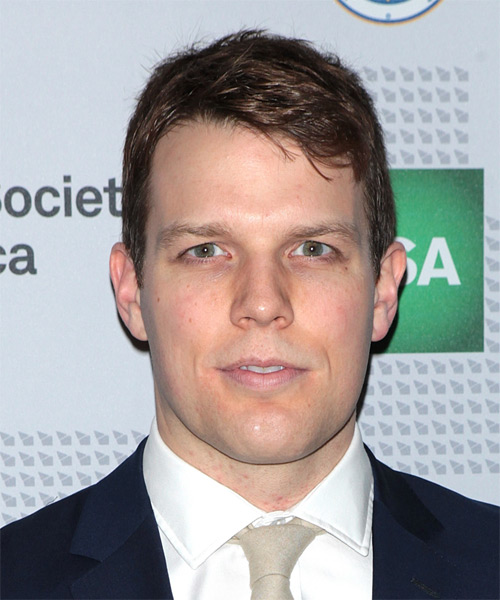 Jake Lacy Short Straight Casual Hairstyle