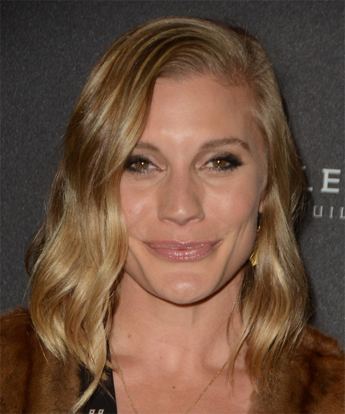 Katee Sackhoff Medium Wavy Casual