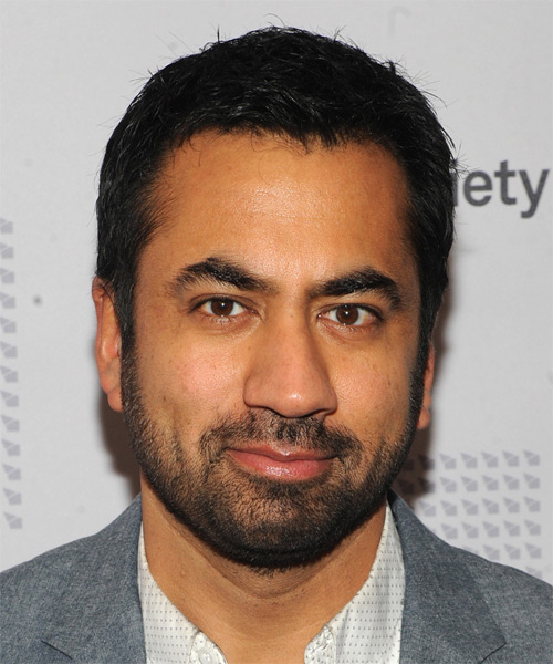 Kal Penn Short Straight Casual Hairstyle