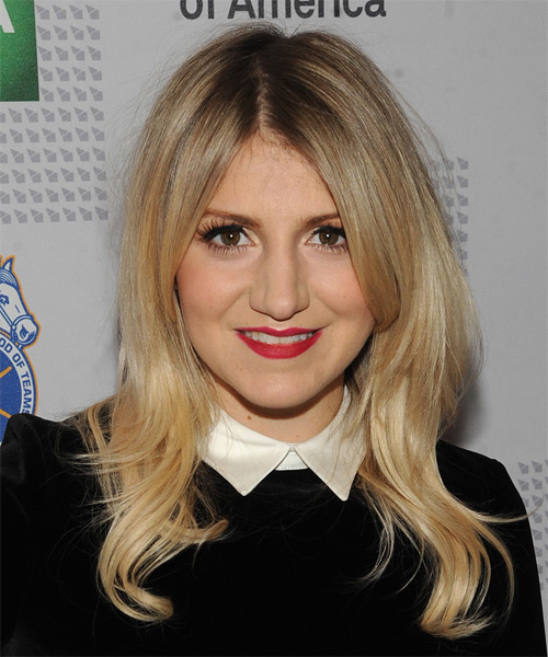 Annaleigh Ashford Long Straight Casual Hairstyle
