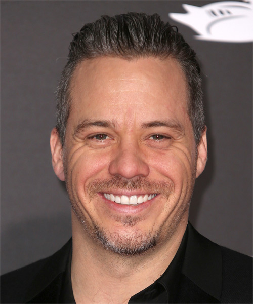 Michael Raymond James Short Straight Casual Hairstyle - Dark Brunette Hair Color
