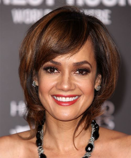 Tammy Townsend Short Straight Casual Hairstyle
