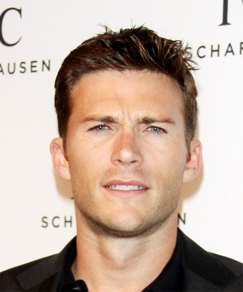 Scott Eastwood Short Straight Hairstyle - Medium Brunette