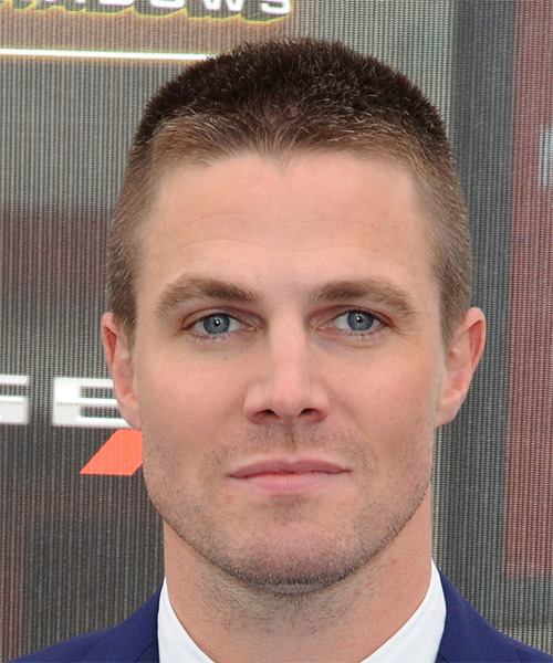 Stephen Amell Short Straight Casual  - Light Brunette