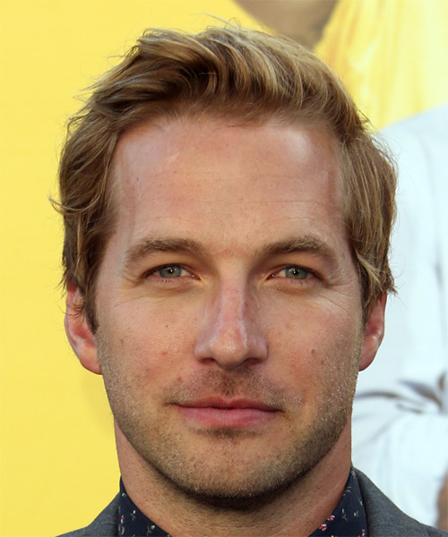 Ryan Hansen Short Straight Hairstyle - Dark Blonde