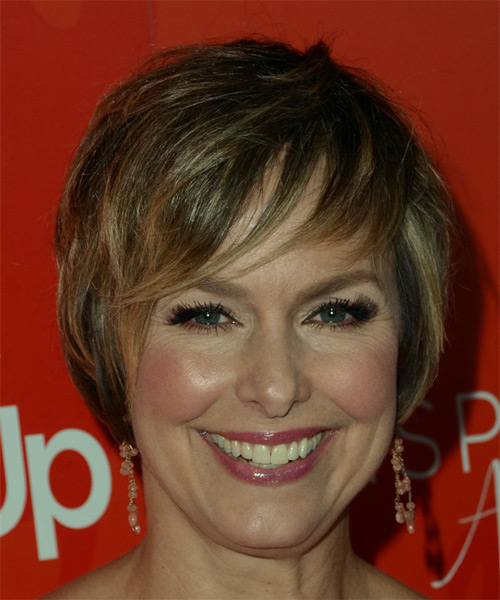 Melora Hardin Short Straight Formal Pixie