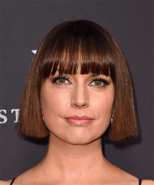 Julie Ann Emery Medium Straight Formal Bob