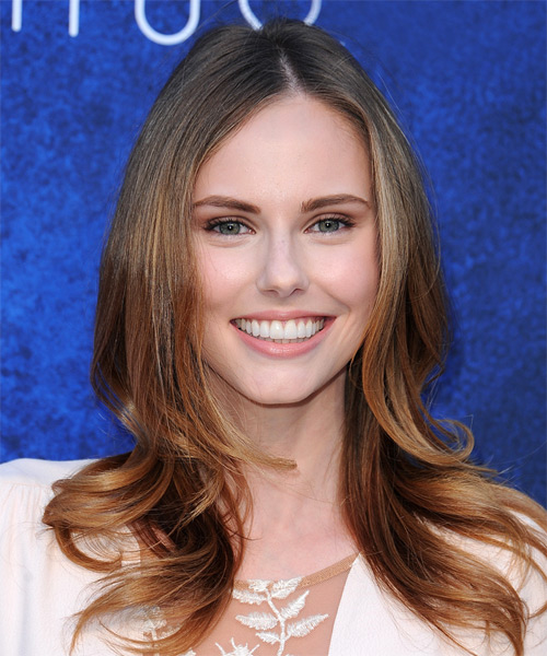 Alyssa Campanella Long Straight Formal Hairstyle - Light Brunette Hair Color