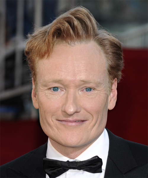 Conan O'Brien Short Wavy Hairstyle