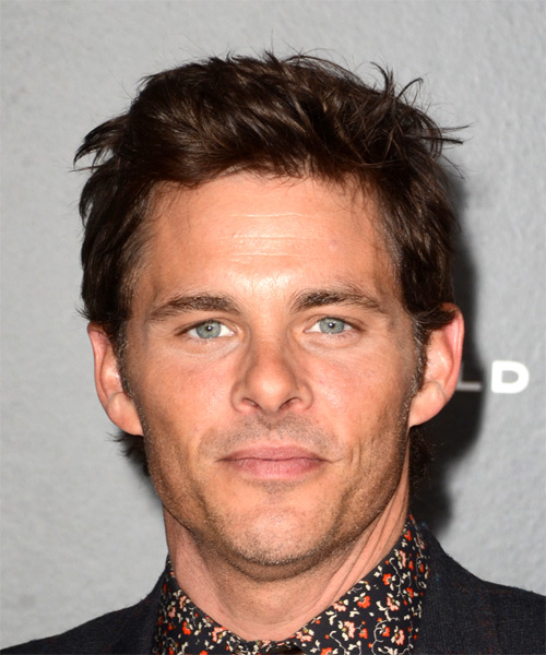 James Marsden Short Straight Casual  - Medium Brunette