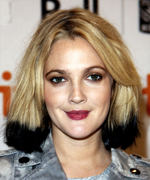 Drew Barrymore Medium Straight Hairstyle
