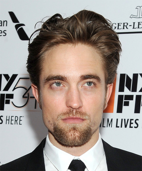Robert Pattinson Short Straight Casual  - Medium Brunette (Chestnut)