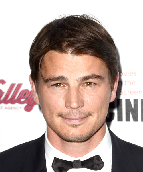 Josh Hartnett Short Straight Casual  - Dark Brunette