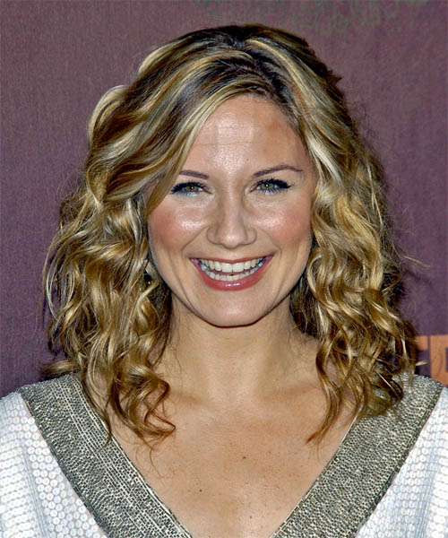Jennifer Nettles Long Curly Casual Hairstyle