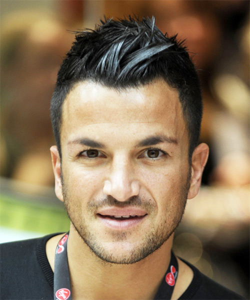 Peter Andre Short Straight Hairstyle