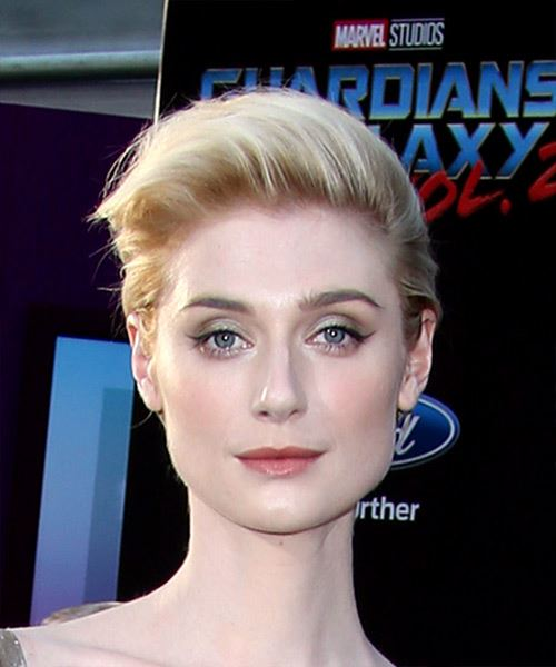 Elizabeth Debicki Short Straight Casual Hairstyle - Light Blonde Hair Color