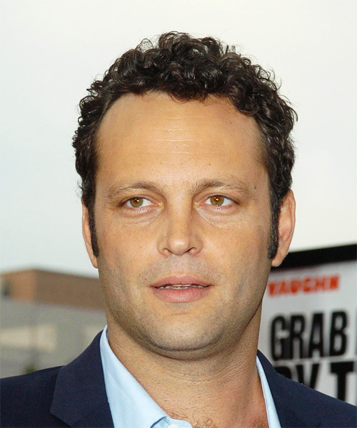 Vince Vaughn Short Curly Casual Hairstyle