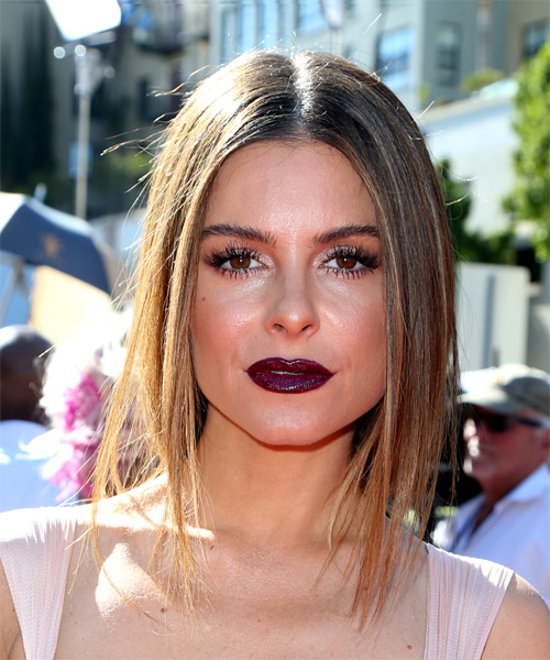 Maria Menounos Shoulder length Straight Bob