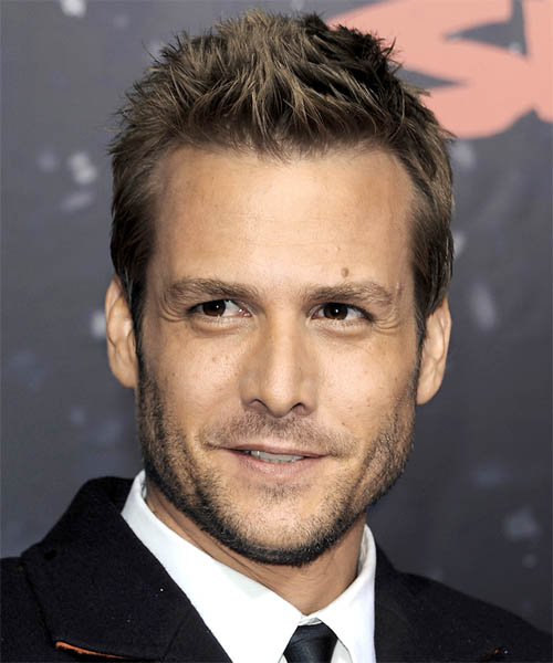Gabriel Macht - Casual Short Straight Hairstyle