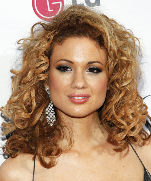 Miri Ben-Ari Long Curly Casual Hairstyle