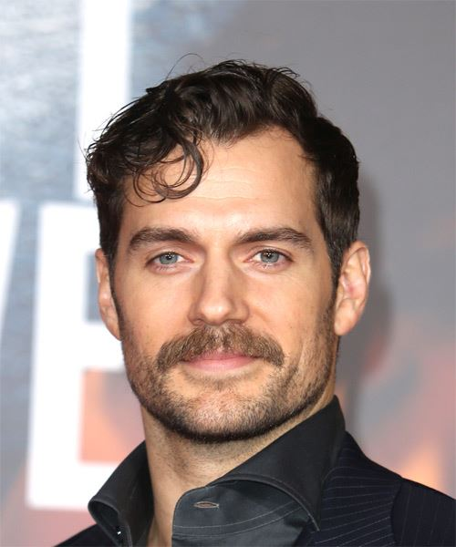 Henry Cavill Short Wavy Haircut