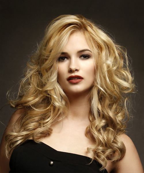 Long Wavy Voluminous Hairstyle