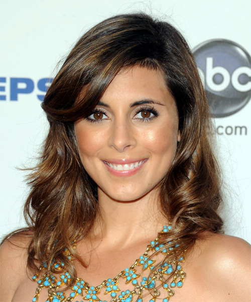 Jamie-Lynn Sigler - Casual Long Wavy Hairstyle