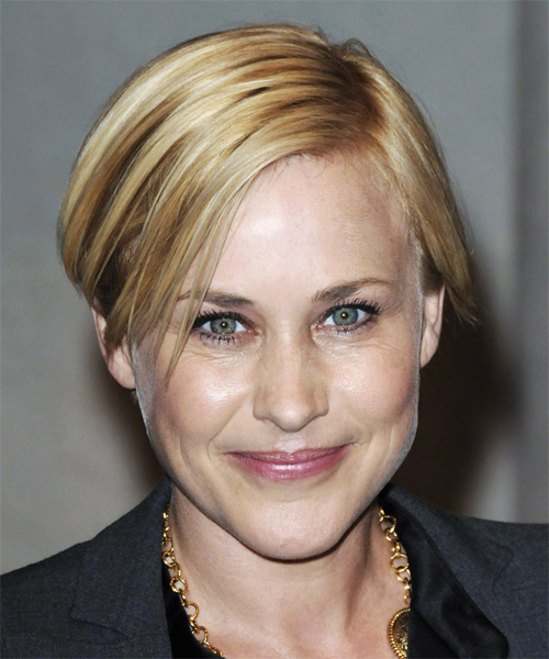 Patricia Arquette Short Straight Hairstyle