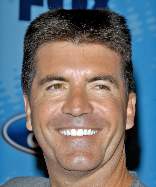 Simon Cowell - Casual Short Straight Hairstyle