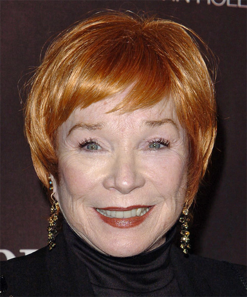 Shirley Maclaine Short Straight Formal Hairstyle