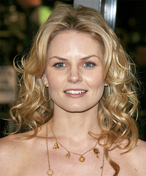 Jennifer Morrison Long Wavy Casual Hairstyle