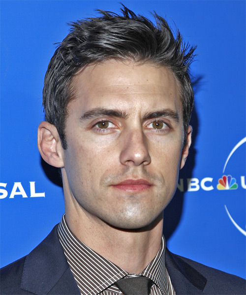 Milo Ventimiglia Short Straight Hairstyle