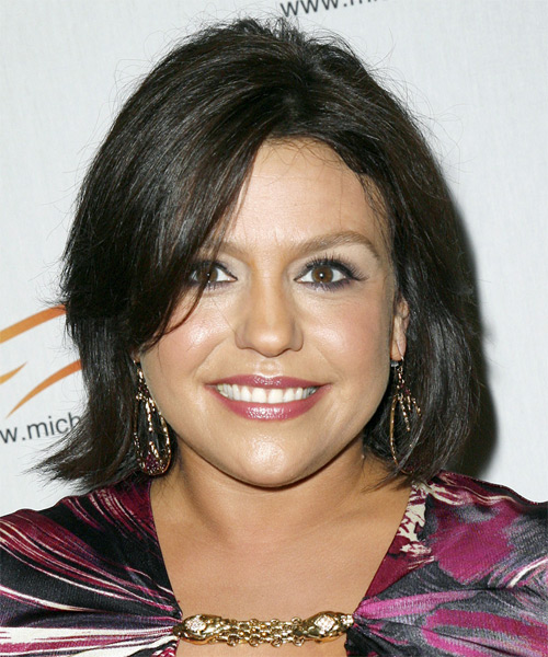 rachael ray hair cut rachael ray medium straight casual hairstyle