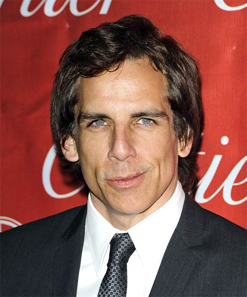 Ben Stiller Short Wavy Hairstyle