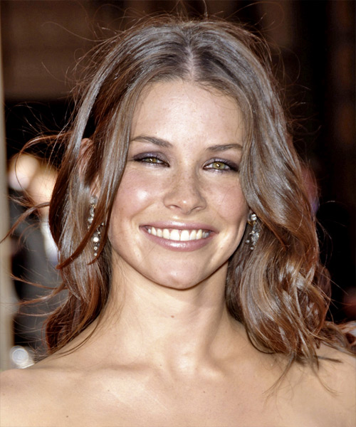 Evangeline Lilly Long Wavy Casual Hairstyle