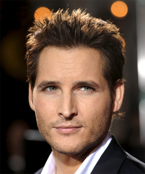 Peter Facinelli - Casual Short Straight Hairstyle