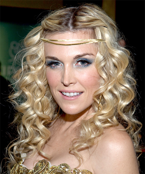 Tinsley Mortimer Long Curly Formal Hairstyle