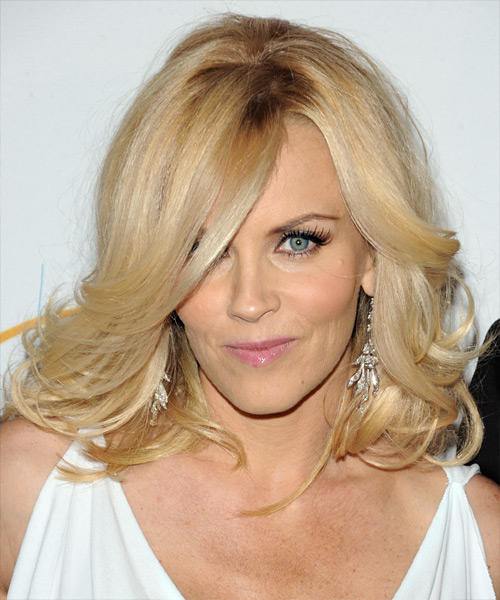 Jenny McCarthy Long Wavy Formal Hairstyle