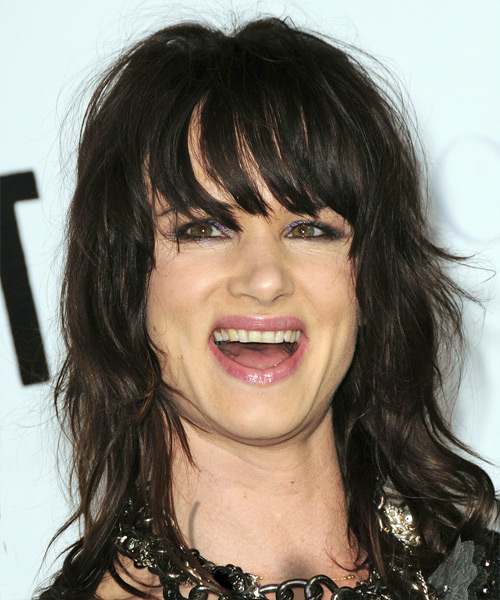 Juliette Lewis Long Wavy Casual Hairstyle