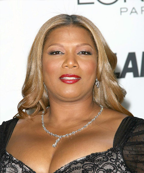 Queen Latifah Long Wavy Formal Hairstyle